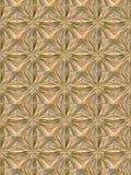 Plancher de tuiles d'étoile/plafond en bois Image stock