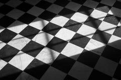 Plancher de tuiles de marbre Image libre de droits