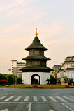 Plancher de Wenchang à Yangzhou du centre Images stock