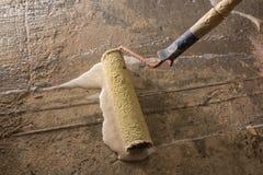 Plancher en béton de amorçage Image libre de droits