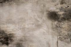 Plancher en béton sale avec la texture souillée de saleté de peinture photographie stock