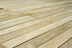 Plancher en bois Photos stock