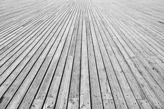 Plancher en bois Photo libre de droits
