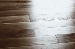 Plancher en bois photographie stock libre de droits