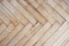 Plancher en bois affligé rustique Photo stock