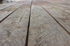 Plancher en bois de la maison Image stock