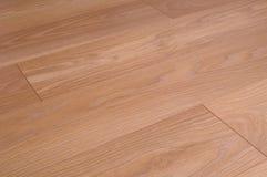 plancher en bois de stratifié de plancher Image stock