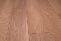 plancher en bois de stratifié de plancher Photos libres de droits