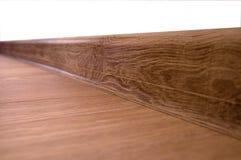 plancher en bois de stratifié de plancher Photo libre de droits
