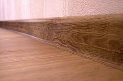 plancher en bois de stratifié de plancher Images stock