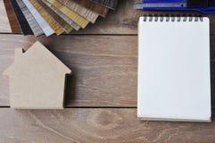 Plancher en bois de texture sur le fond en bois Images stock