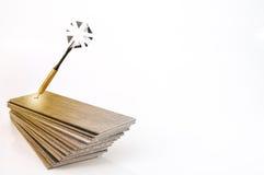Plancher en bois en stratifié de texture : tuile de chêne, tuile d'érable, châtaigne jusqu'à image libre de droits