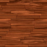Plancher en bois sans joint de parquet Photographie stock libre de droits