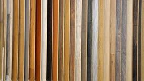 Plancher en bois en stratifié image stock
