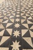 Plancher en céramique dans la cathédrale de Burgos Photo libre de droits