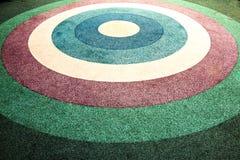 Plancher en caoutchouc coloré Photos stock