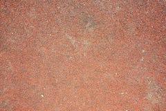 Plancher en caoutchouc rouge Photographie stock libre de droits