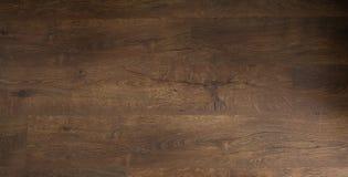 Plancher foncé de chêne Plancher en bois, parquet de chêne - plancher en bois, stratifié de chêne photographie stock libre de droits