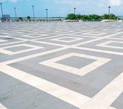 Plancher géométrique Images libres de droits