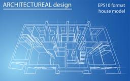 Plancher modèle de résidence Vecteur Photos libres de droits