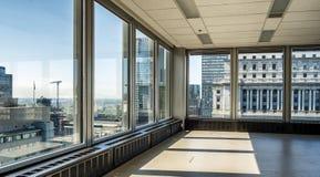 Plancher moderne de bâtiment Images libres de droits