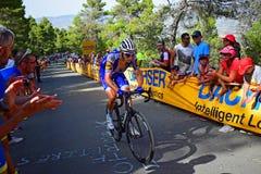 Planchers de quickstep de course de cycle de Vuelta España de La images stock