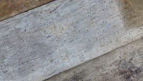 Planches criquées rayées de vieux plancher Vintage Grey Timber vermoulu par le ver de bois photo libre de droits