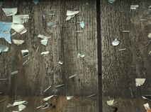 planches de noticeboard Photo stock