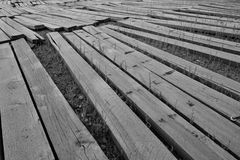 Planches en bois Photo libre de droits