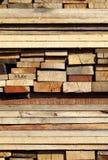 Planches en bois Images libres de droits