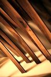 Planches en bois abstraites Image libre de droits