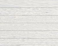 Planches en bois blanches Images stock