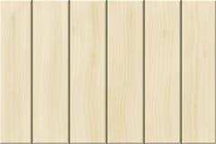 Planches en bois blanches Images libres de droits