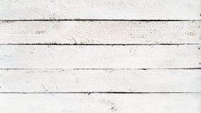 Planches en bois blanches image libre de droits