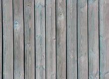 Planches en bois bleu-clair verticales minables, texture Images libres de droits