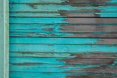 Planches en bois bleues Images libres de droits