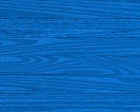 Planches en bois bleues Photo libre de droits