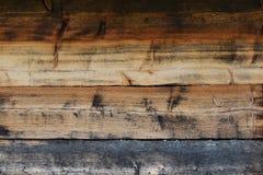 Planches en bois d'une vieille maison Photo libre de droits