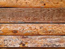 Planches en bois de Brown Photographie stock
