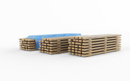 Planches en bois de construction Photographie stock