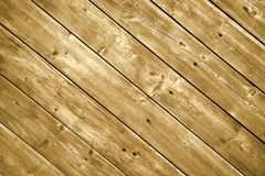 Planches en bois de decking. Photo stock