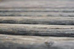 Planches en bois en bois Photo libre de droits
