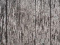 Planches en bois grises âgées Photos libres de droits