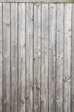 Planches en bois grises Fond vertical Images libres de droits