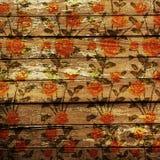 Planches en bois superficielles par les agents Image libre de droits