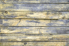 Planches jaunes horizontales Photos stock