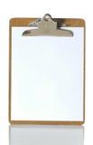 Planchette blanc photographie stock libre de droits