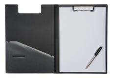 Planchette ouverte et crayon lecteur images libres de droits
