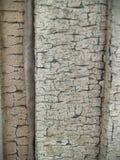 Plancia di legno arrugginita e vecchia pittura Fotografia Stock Libera da Diritti