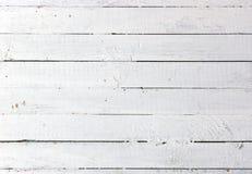 Plancia di legno bianca Fotografia Stock